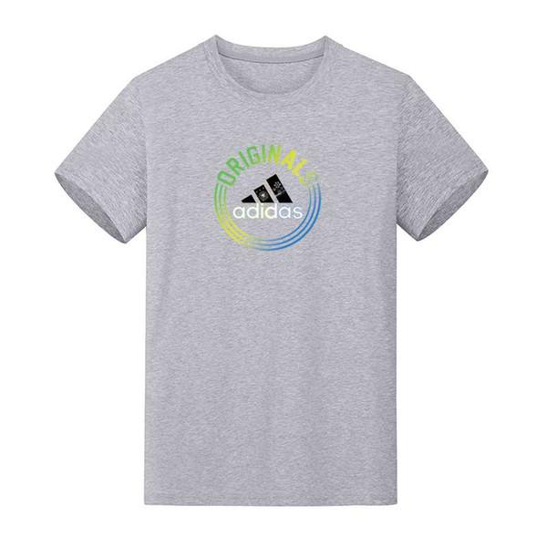 Nueva camiseta de producción de verano 2019 nuevas mangas cortas para hombres, algodón, secado rápido, sin arrugas, adecuada para el uso personal, tendencias de la moda