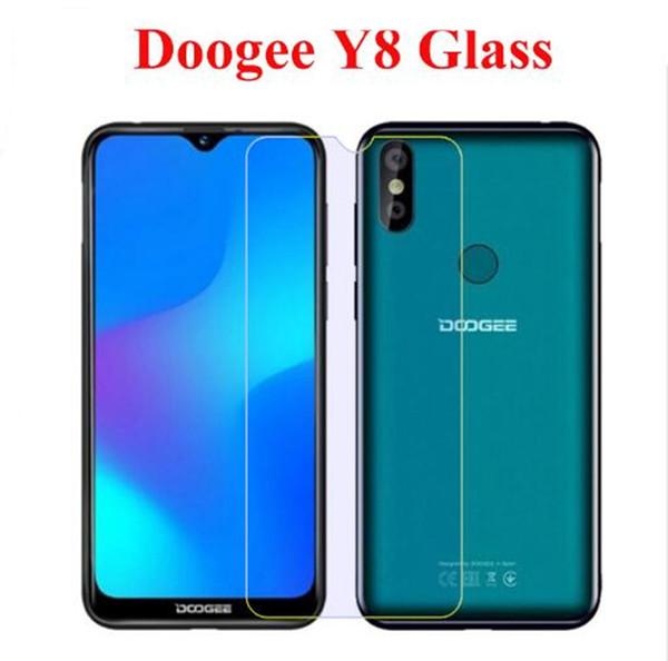 Verre trempé pour Doogee Y8 Protecteur d'écran Ultra-mince film de verre pour smartphone pour Doogee Y8