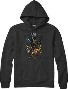 Wolverine Hoodie X MEN Hooded Jumper Marvel Comics Top inspirado superhéroe