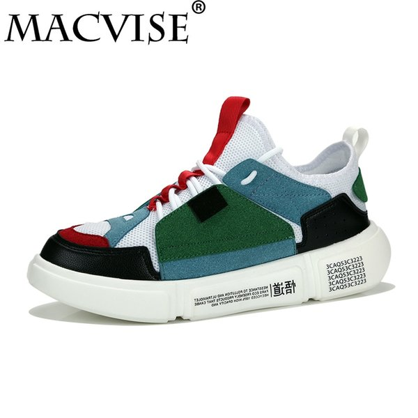 Big Size 39-48 Men's Casual Flats Rubber Shoes Breathable Red Bottoms Shoelace Buty Meskie Vulcanized Shoes Zapatos De Hombre #36592
