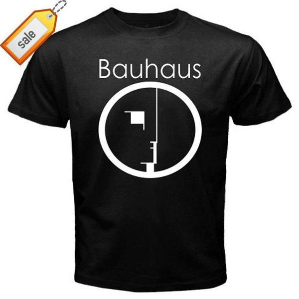New BAUHAUS Goth Rock Band Sisters of Mercy Men's Black T-Shirt Size S to 3XL Short New Style Tee Shirt
