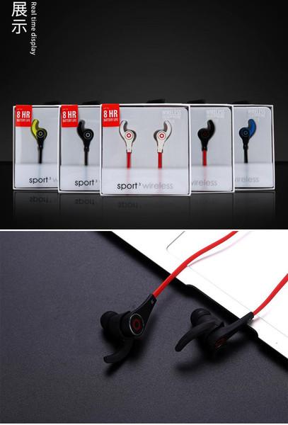 2019 Yeni G10 Kulak Bluetooth hareket kulaklık Kablosuz 4.1 çağrı Mic ile bas Bluetooth su geçirmez kulaklık