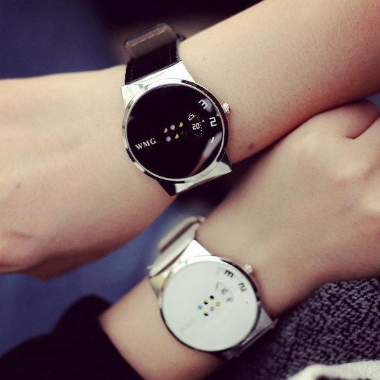 Regalo dell'orologio di marca di modo degli uomini della vigilanza di nuova Mans uomo orologio 2.019 creativo cinturino in pelle orologi Sport quarzo di stile militare da polso Timepiece