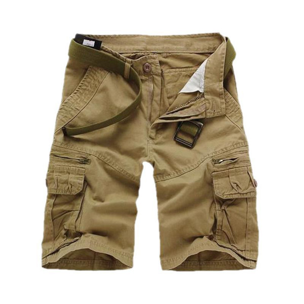 top popular Men's Comfortable Outdoor Cargo Shorts For Outdoor Sports Hunting Fishing Hiking And Climbing 2019