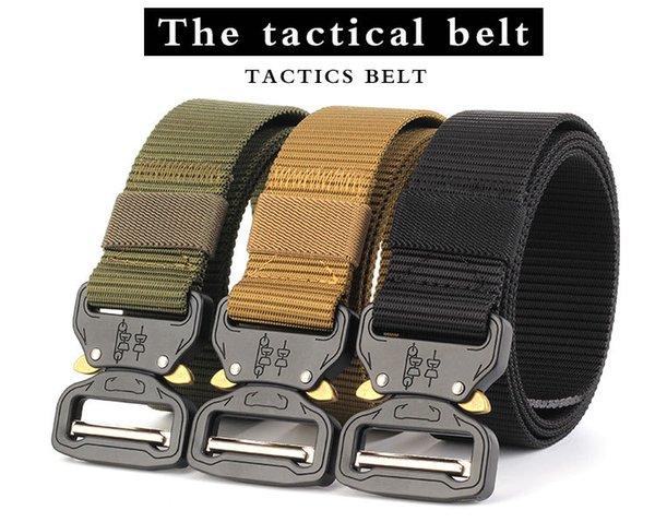 3.8 snake buckle tactical belt nylon inner belt CS training belt