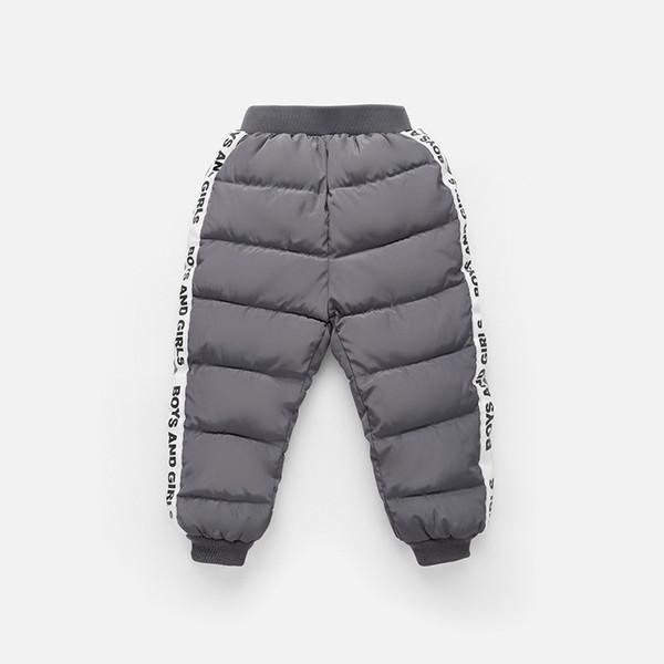 Moda Para Mujeres Pantalones Pantalones Casual Ajustado Calido Hacia Abajo Al Aire Libre De Invierno De Algodon Pantalones Control Ar Com Ar