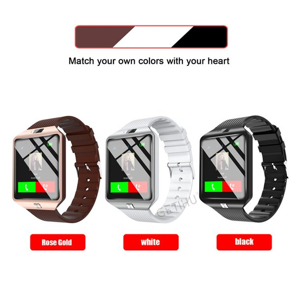 Cawono Bluetooth Smart Watch Smartwatch DZ09 Android Phone Call Relogio 2G GSM Relojes TF SIM Camera iwatch for IOS Sports Watch appl watch