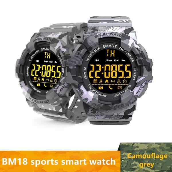 BM18 inteligentes Deportes Pulsera de apoyo despertador Reloj Cronómetro Temporizador Reloj de buceo aplicable para Smartphone reloj