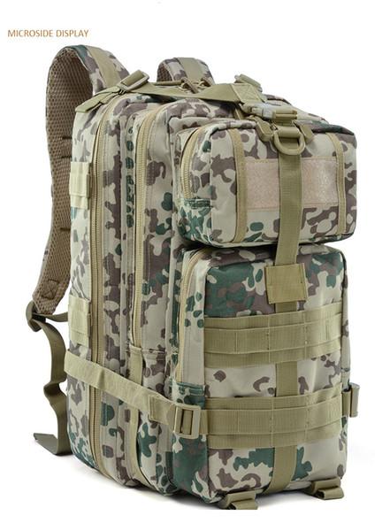 Kamp sırt çantasıyla Sırt çantası sırt çantası sırt çantası paketleri büyük kapasiteli tasarım CS seyahat bisiklet Molle Çanta tasarım treking Yürüyüş Açık Çanta