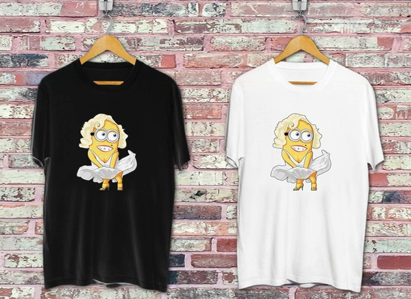 Maryline Minion Black & White T-shirt Cool xxxtentacion marcus and martinus tshirt discout hot new top free shipping t-shirt