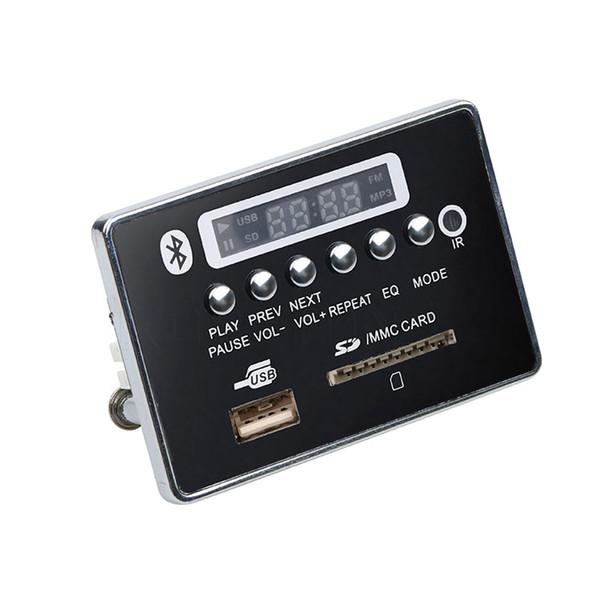 Bluetooth Hands-free MP3 Decoder Board Module Car USB MP3 Player Integrated Remote Control USB FM Aux Radio for Car
