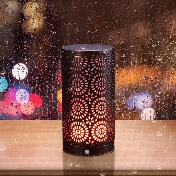 LED Flame Effect Magnetkerzenlicht mit Upside-Down-Effekt Flimmernde Flammen Tischlampe LED Deko Licht für die Weihnachtsdekoration