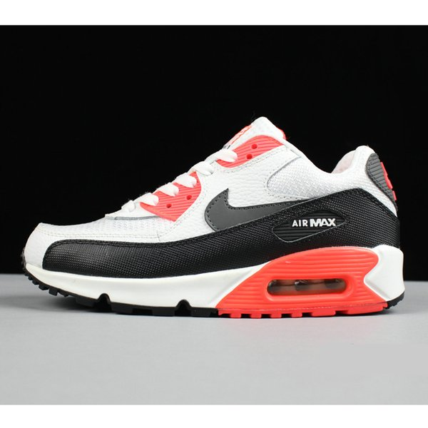 Best Fashion designer sneakers 90s men women running shoes 90 white black red grey blue for cheap sale