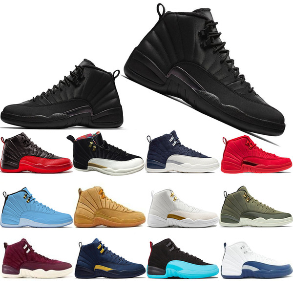 New Classic 12 12s Mens Basketball Schuhe CNY Michigan Wntr Gym Rot NYC Wolle Bulls XII Designer Schuhe Sport Sneakers Trainer Größe 41-47