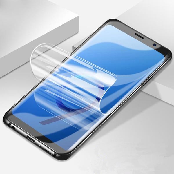 Soft Hydrogel film on for Huawei P9 P10 Plus Mate 9 pro honor 8 Lite Nova 2 Plus V8 Screen Protector film Full Cover (Not Glass)
