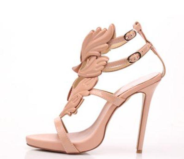 2018 luxurious brand good quality women high heels sandal sexy fashion lady Gladiator party shoes wedding high heels