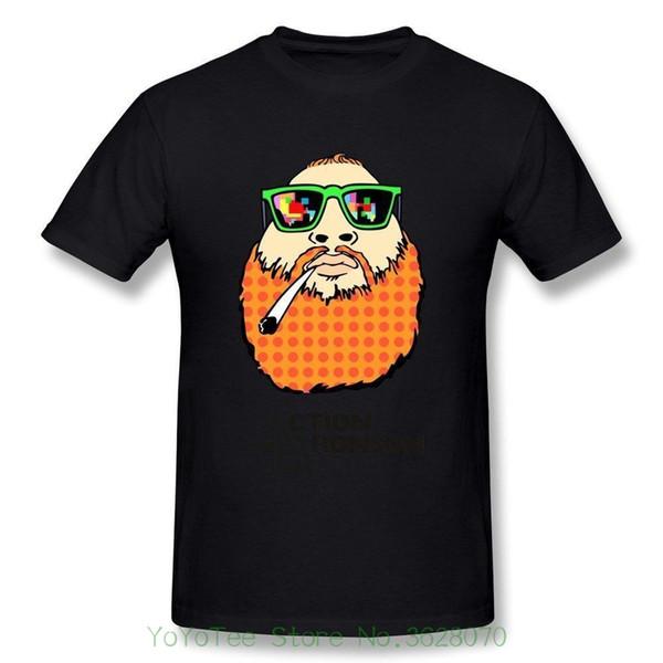 Männer Baumwoll-T-Shirt Bedrucktes T-Shirt Fashion Men '; S Action Bronson Graphic Printed - Lässiges O-Neck-T-Shirt
