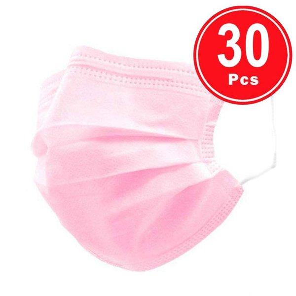 30pcs розовый