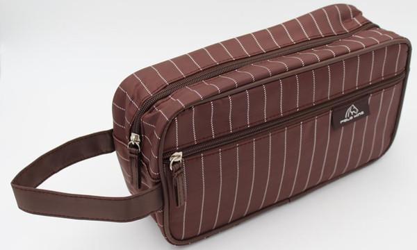 Old Cobbler direct deal Customized logo Cosmetic Bag Outdoor sport Zipper handbag fashion Storage bag wholesale Wash bag
