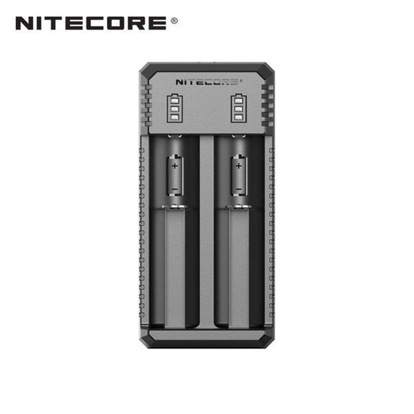 Nitecore UI2 2-slot Portable USB Li-ion Battery Charger for almost all Li-ion cells with 800mA max current optimal charging modes vape Charg