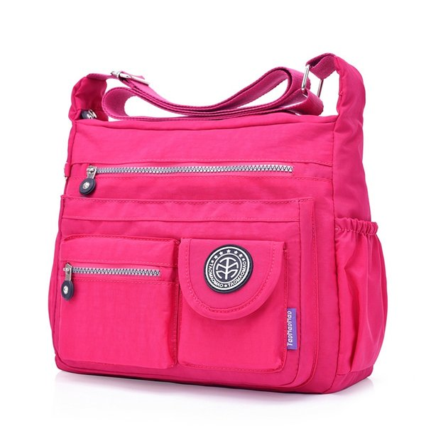 Новое прибытие Марка Taomaomao мода повседневная водонепроницаемый нейлон сумка # 34556