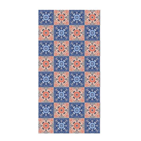 Color Pattern Non Slip Floor Sticker Living Room Decor Mural Bed Side Floor Stickers Kitchen Ground Sticker Wallpaper
