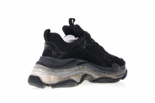 Новое прибытие Париж Кристалл Bottom15 Triple-S досуг Обувь Обувь Triple S кроссовки для мужчин женщин старинные Kanye старый дедушка тренер