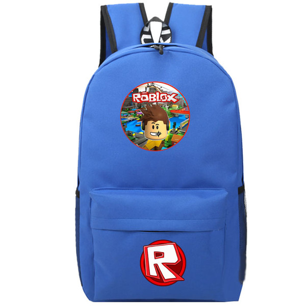 Roblox Backpack Custom Student School Bag Canvas Laptop Rucksack Wolve'S  Life Backpacks Colorful Laptop Backpack Backpacks For Girls From Swiscafe,