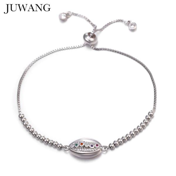 braccialetto guscio regolabile in rame Bracciali zirconia color oro per le donne di cristallo blu del braccialetto dell'occhio diabolico femme Beach Jewelry