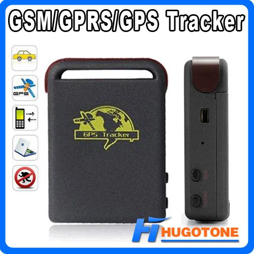 Personal Spy Car GPS Tracker TK102 Quad Band Global Online Vehicle Tracker TF Card Offline Real Time Device With Package Free Shipping