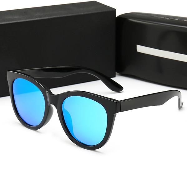 High Quality Sunglasses Half Frame Men Women Brand Designer Sun Glasses Big Frame Glass Lens with Box and Cases gafas de sol oculos