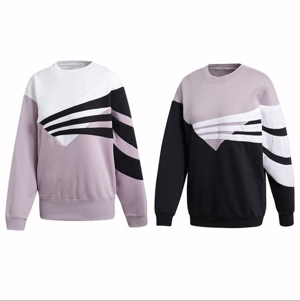 2019 novo bordado das mulheres camisola dos esportes camisola com capuz jumper sportswear correndo casaco de corrida casaco hoodies para as mulheres Camisolas