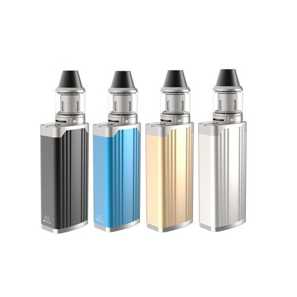 Electronic Cigarette OLAX TC 65 Kit 65W Box Mod With 18650 External Battery 2200mAh Capacity Made of High-quality Al-alloy and Zinc Alloy
