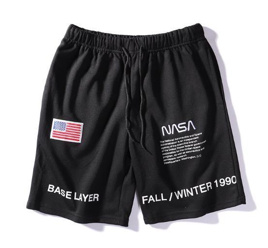 Fashion nasa shorts Men Fashion Clothing Summer Beach Shorts Bermuda Leisure Short Pants Cotton Casual Shorts