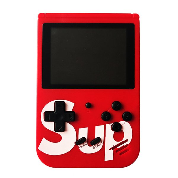 SUP Portable Game Players Handheld Game Console Retro Games Console 2.8 Inch Screen 400 Classic Pocket Game Player TV Output Portable Player