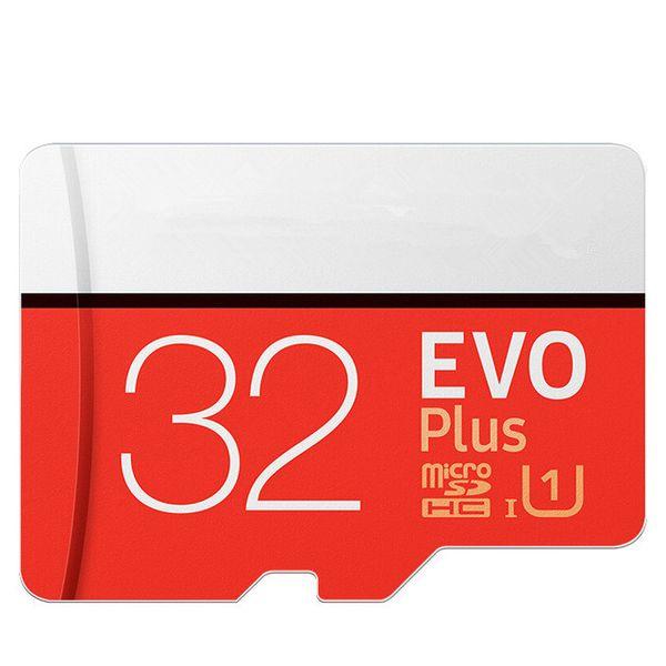 Карты памяти EVO + 32 ГБ EVO плюс 64 ГБ 128 ГБ 256 ГБ Class10 Micro SD Card для рекордера DVR