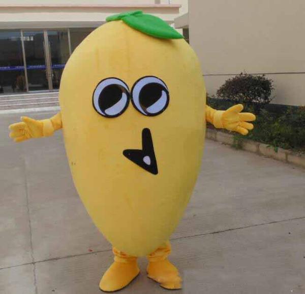 2018 Costumi mascotte di mango dolce frutta caldo di alta qualità per adulti da indossare in vendita
