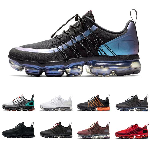 2019 run utility men women running shoes top quality triple black Throwback Future Urban Bounce mens trainer breathable sports sneakers