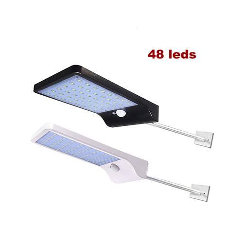 48 LEDs de luz solar, nenhum controlador remoto