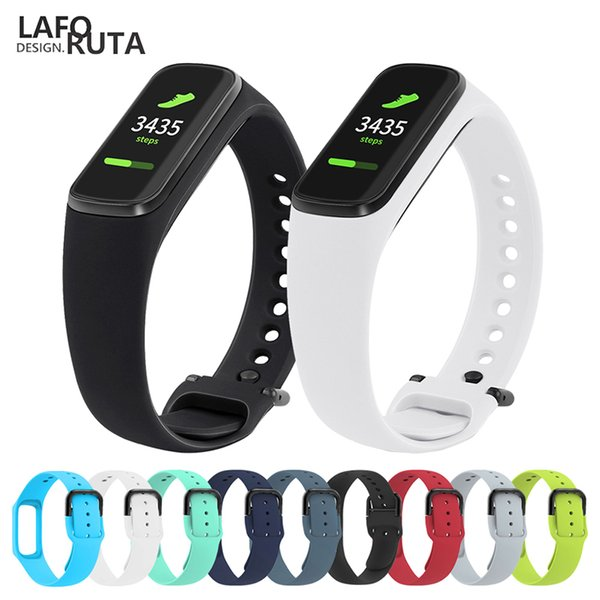 Para Laforuta Galaxy Fit-e pulsera de silicona banda Correa para Samsung R375 hombres de las mujeres de fitness inteligente correa Loop