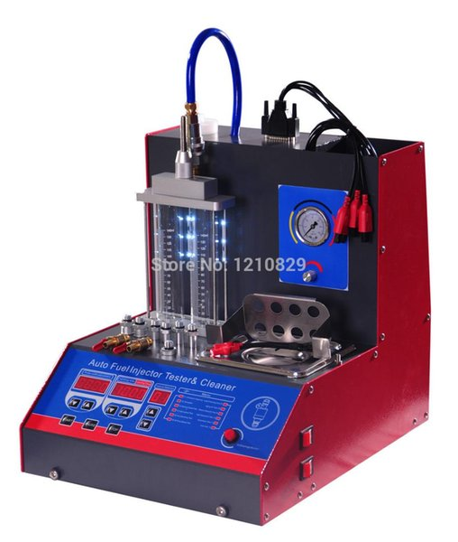 2 jars Ultrasonic Fuel Injector Tester and cleaner, fuel nozzle cleaning machine MST-20 with factory price
