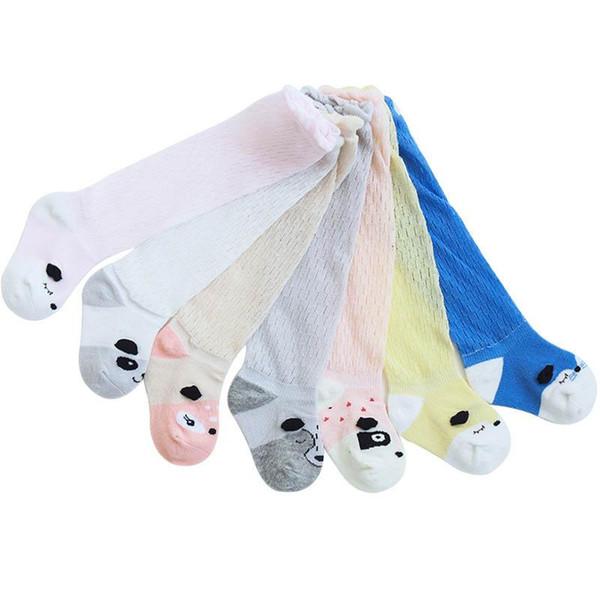 Cartoon Baby Socks Toddler Socks Baby Girls Cotton Sock Casual kids Knit Knee High Socks boys Best Sock Newborn baby girl clothes