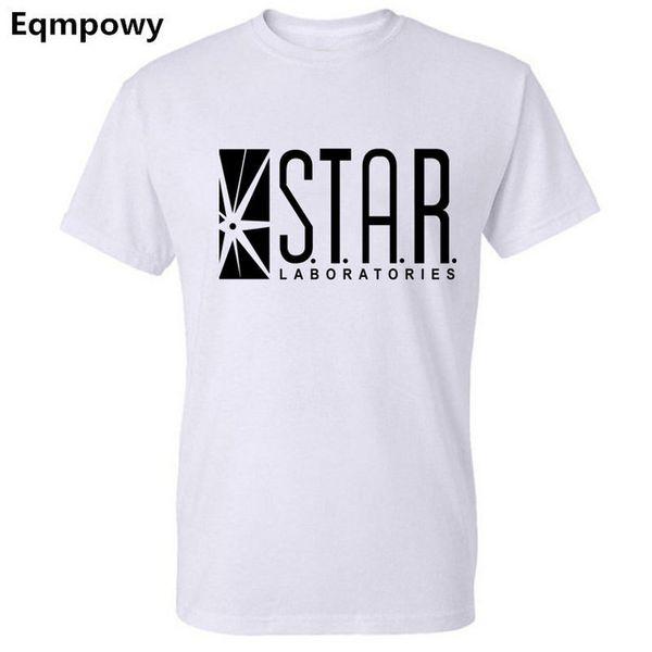 2019 Womens luxury designer t shirts Flash Barry Allen Star Lab Labs Black Color Sweatshirt Men Novelty hoodies Pullover Male Arrow Friend