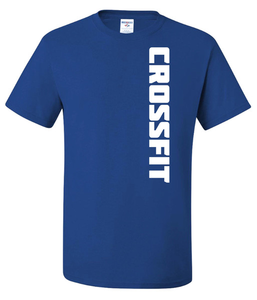 Details zu CROSSFIT T-shirt 50/50 PolyCotton or TriBlend - Bodybuilding Gym Fitness Funny free shipping Unisex Casual gift