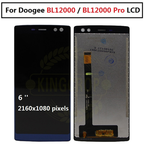 For 6.0 inch Doogee BL12000 BL12000 Pro LCD Display And Touch Screen Doogee lcd Phone Accessories
