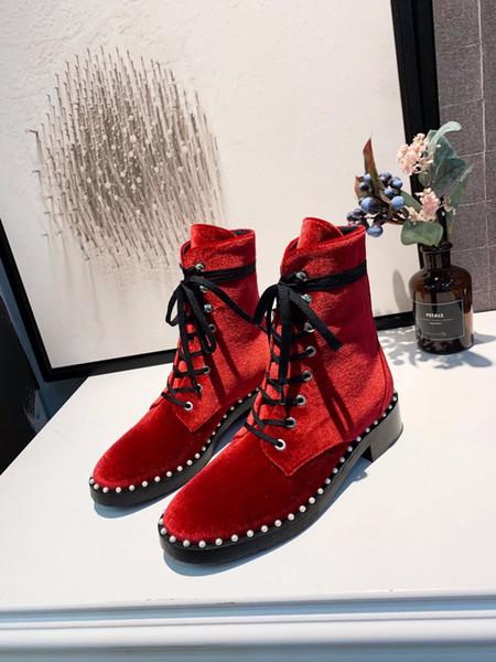 2018 Роскошный дизайнер Женская обувь Модные каблуки Superstar Дизайнерские сапоги Марка Женщины Классическая обувь Черные середины трубки сапоги zx0816