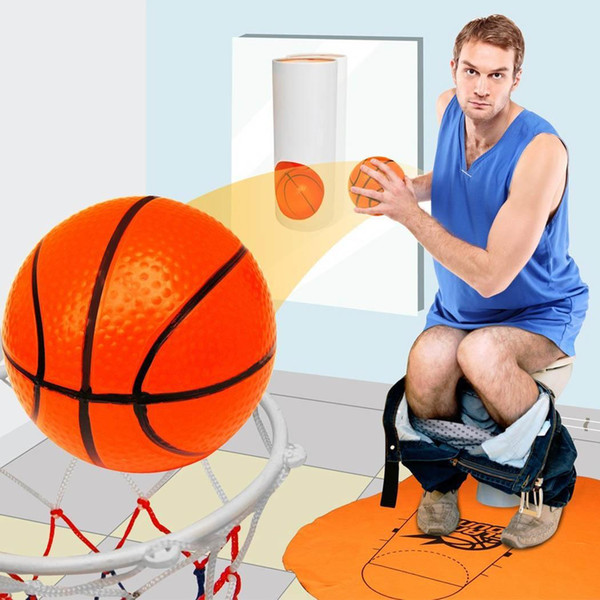 Bedroom Bathroom Toilet Office Desktop Mini Basketball Decompress Game Multi Unisex Gadget Toys