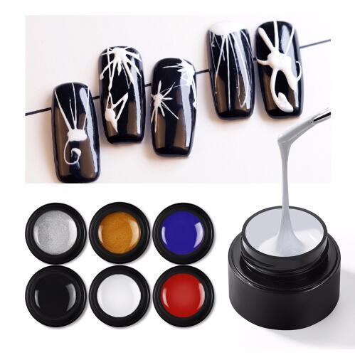 COSCELIA Aranha Gel de Pintura Encantador Pure Cores UV LED Unhas Pintura Gel Cor para Dedo Nail Art Design Unhas de Gel Laca Polonês