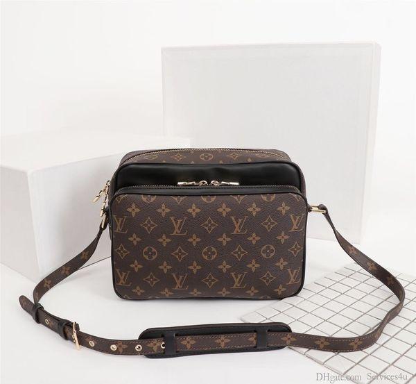 hotselling delle donne classiche di alta qualità genuina pelle vera borsa di lusso ossidante spalla cuscino tote bag borsa SPEEDY 26 * 19 * 12cm 100