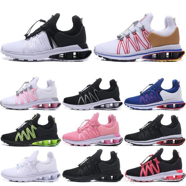 Con calze di alta qualità Uomo Donna Shox Gravity Air Basketball da jogging scarpe da Buffer Cuscino Designer Sneakers Mens Trainers